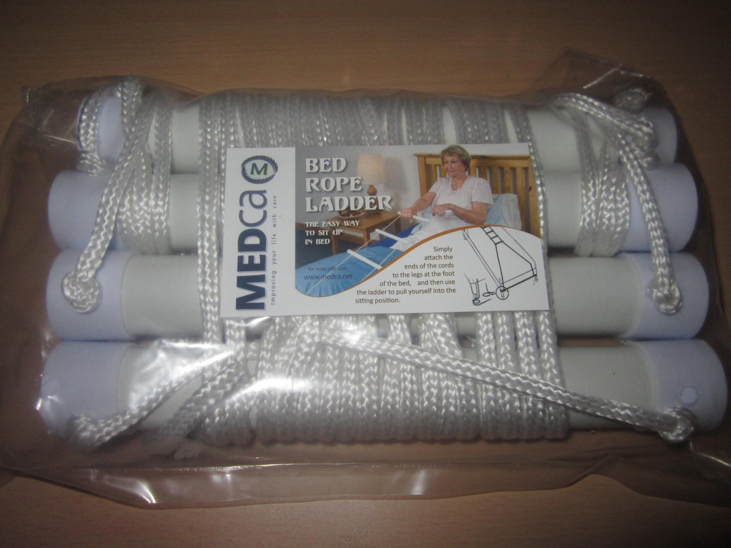 MEDca Bed Helper Adjustable Home Assist ''Bed Rope Latter''
