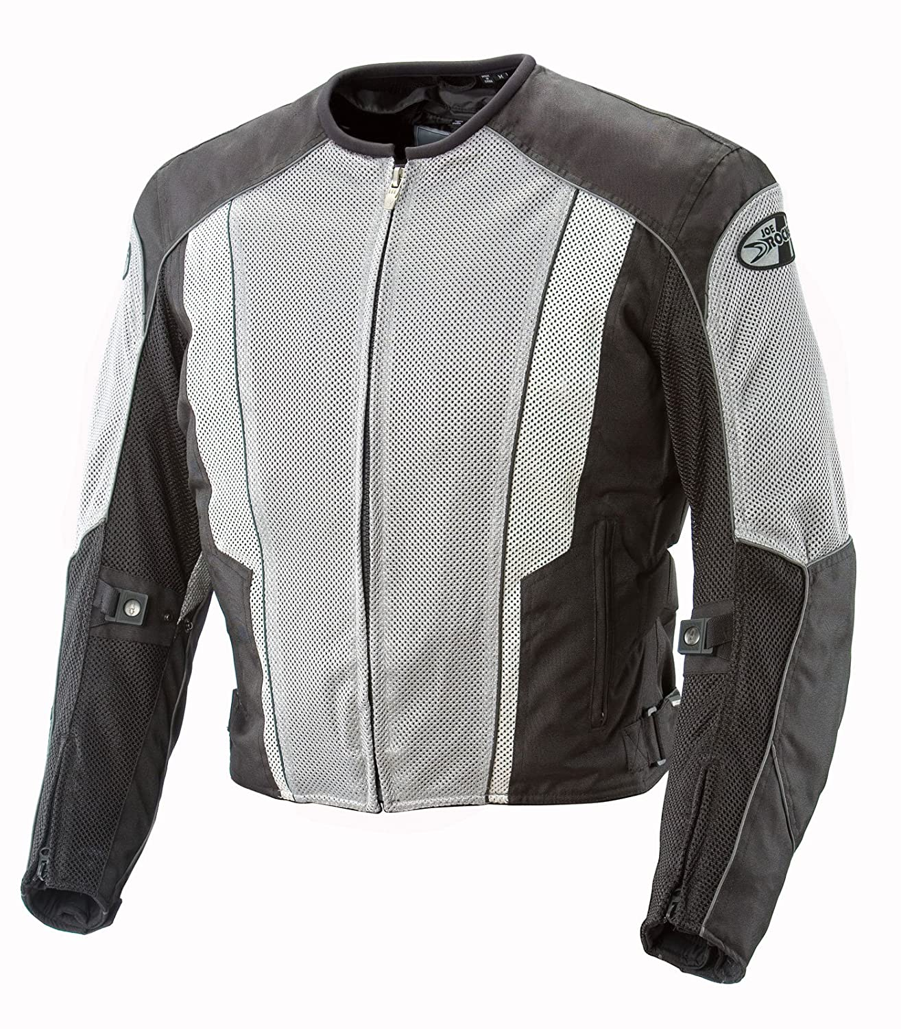 Joe Rocket 851-4016 Phoenix 5.0 Men's Mesh Motorcycle Riding Jacket (Black/Black, XX-Large Tall)