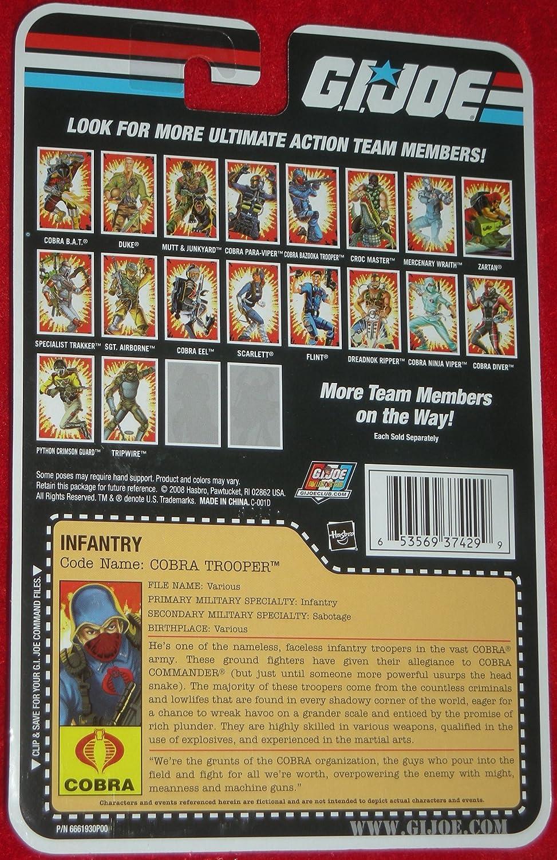 Hasbro - Figurine GI JOE comic series Cobra trooper: Amazon ...