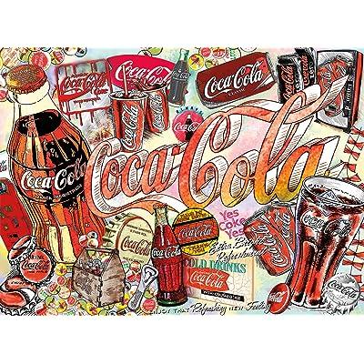 Buffalo Games - Enjoy Coca-Cola - 1000 Piece Jigsaw Puzzle: Toys & Games