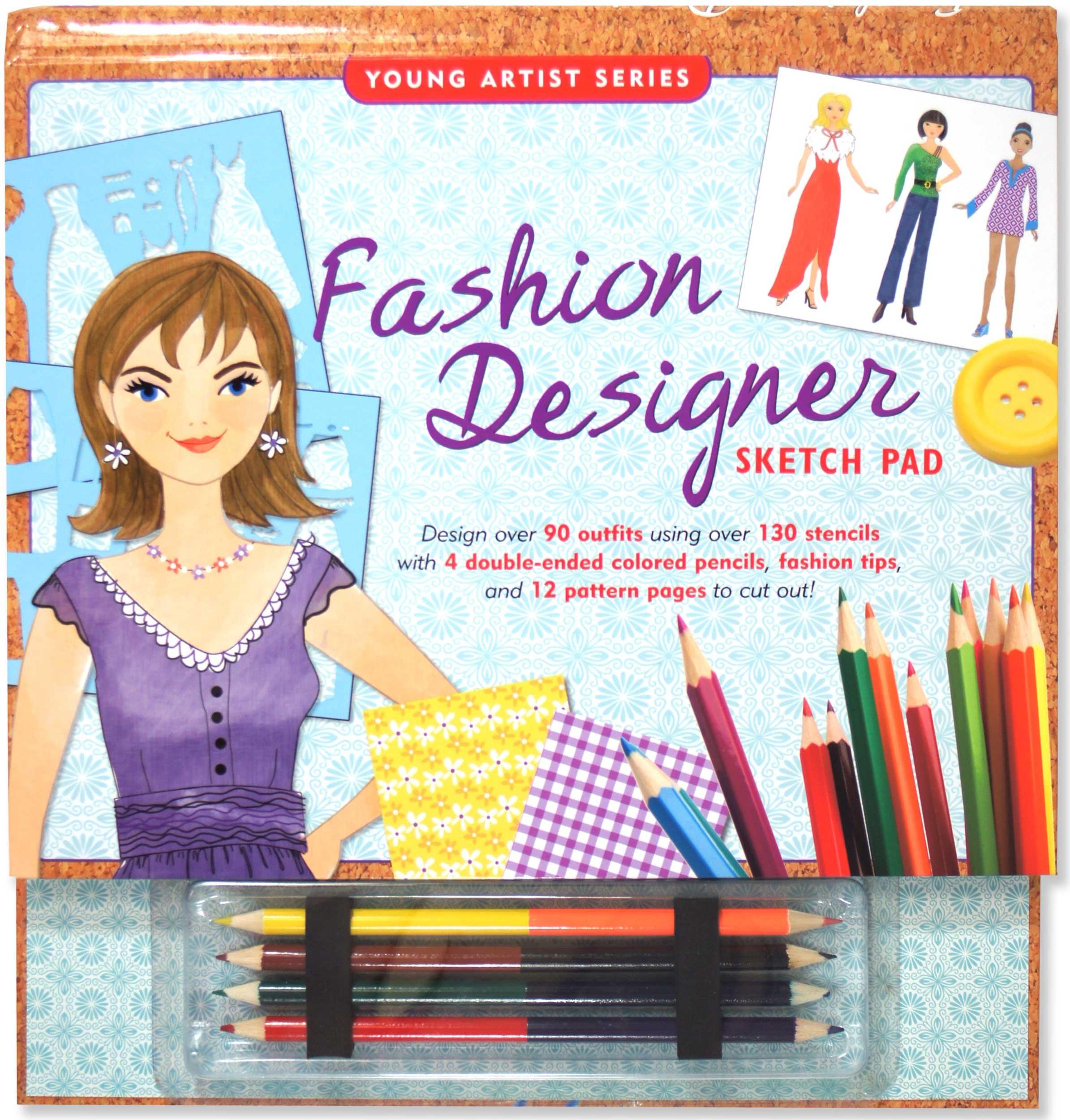 Fashion Designer Sketch Pad Fashion Sketch Kit Young Artist Peter Pauper Press Mara Conlon Amy Saidens 0706151300968 Amazon Com Books