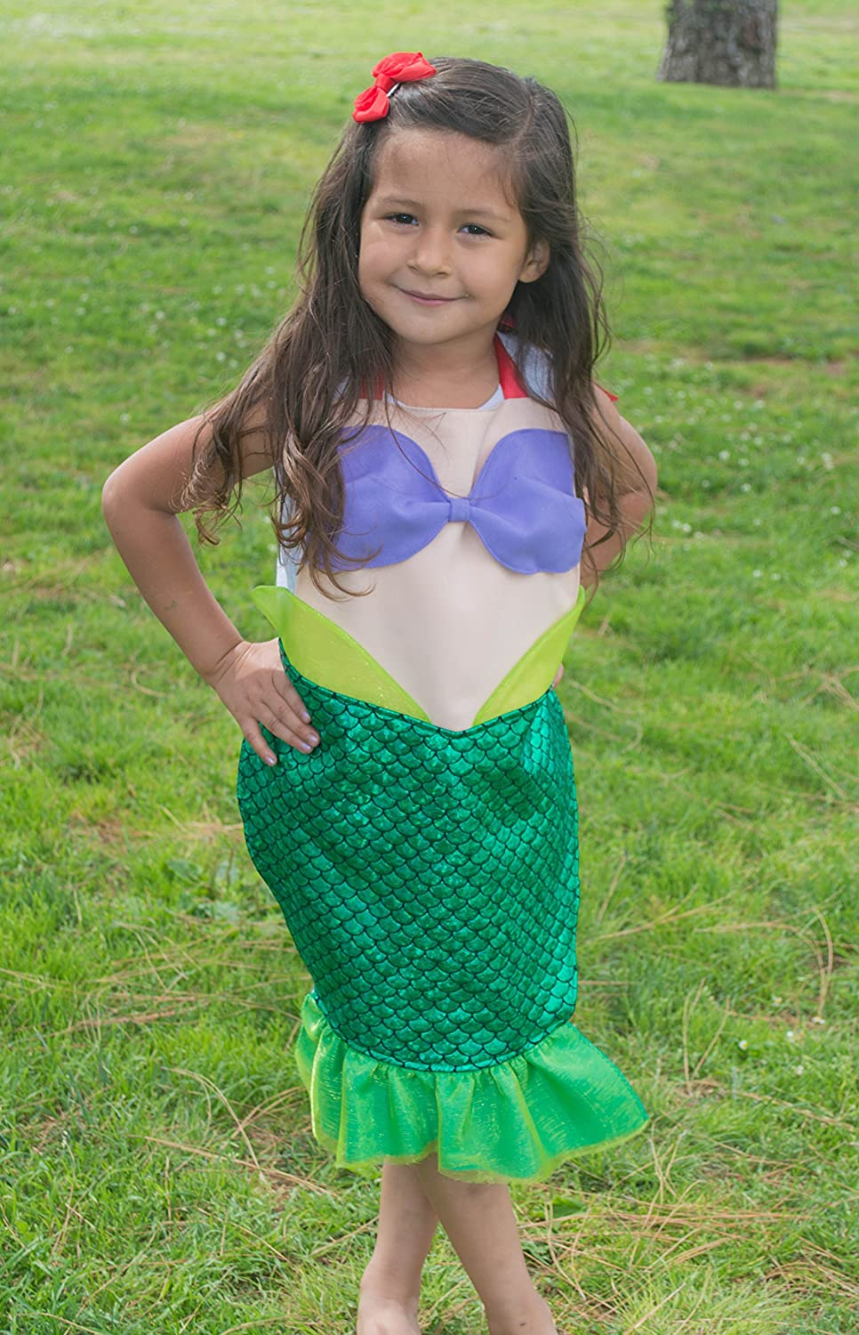 Ariel Inspired Dress Up Apron