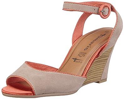 Tamaris Sandals Women multi coloured Mehrfarbig (TAUPE