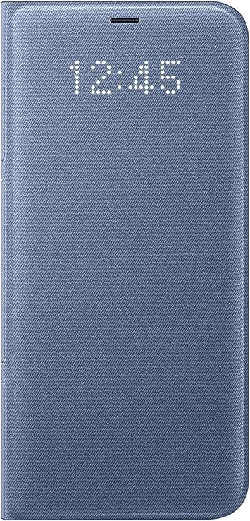 Samsung Led View, Funda para smartphone Samsung Galaxy S8 Plus, Azul: Amazon.es: Electrónica