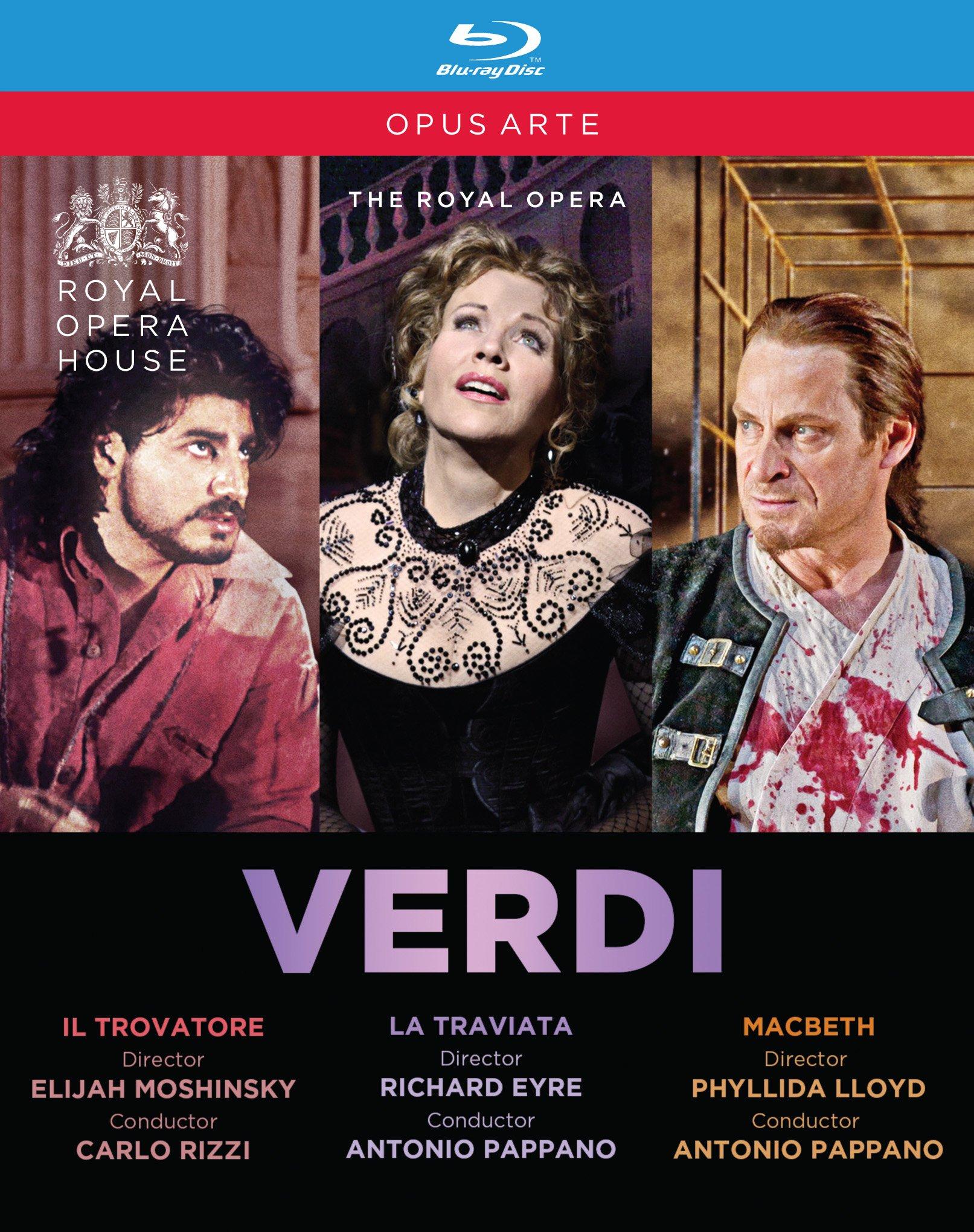 Verdi: Il Trovatore / La Traviata / Macbeth (3PC)