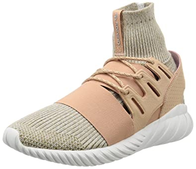 adidas Tubular Doom PK, Sneaker Basses Homme, Beige (St Pale Nude/Clear Brown/Vintage White), 42 EU
