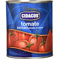 Cidacos tomate entero cil 800 gr. - [Pack