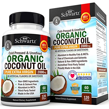 BioSchwartz Coconut Oil Hair Growth Pills