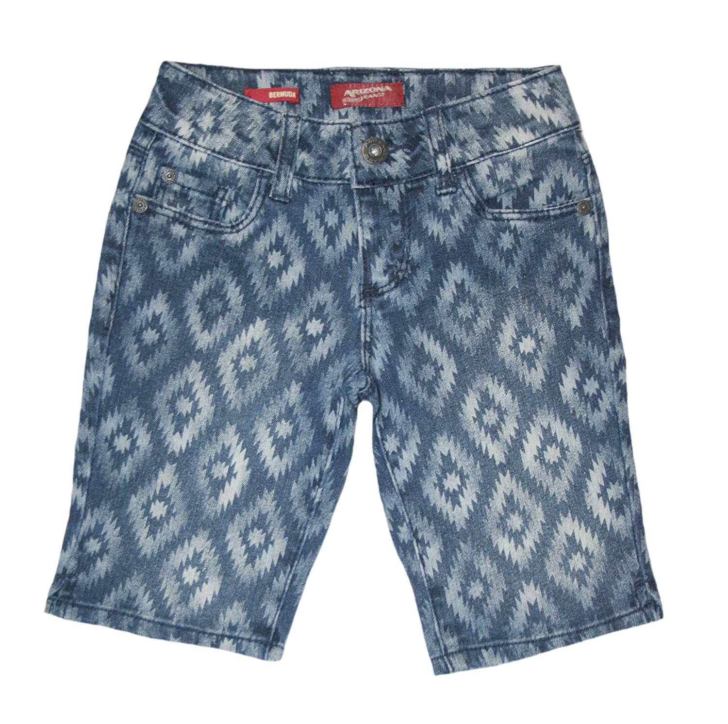 Arizona Big Girls' Jean Bermuda Shorts