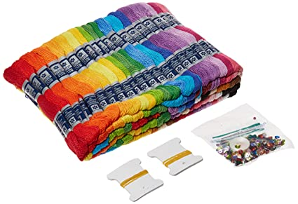 Tobin Zenbroidery Stitching Trim multiple colored thread Pack (105 Pack)