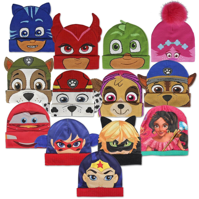 Personaggii Disney Pixar Dc Comics Marvel Nickelodeon DreamWorks Zag Berretto Cappello Invernale Premium Bambino Bambina Characters Cartoons
