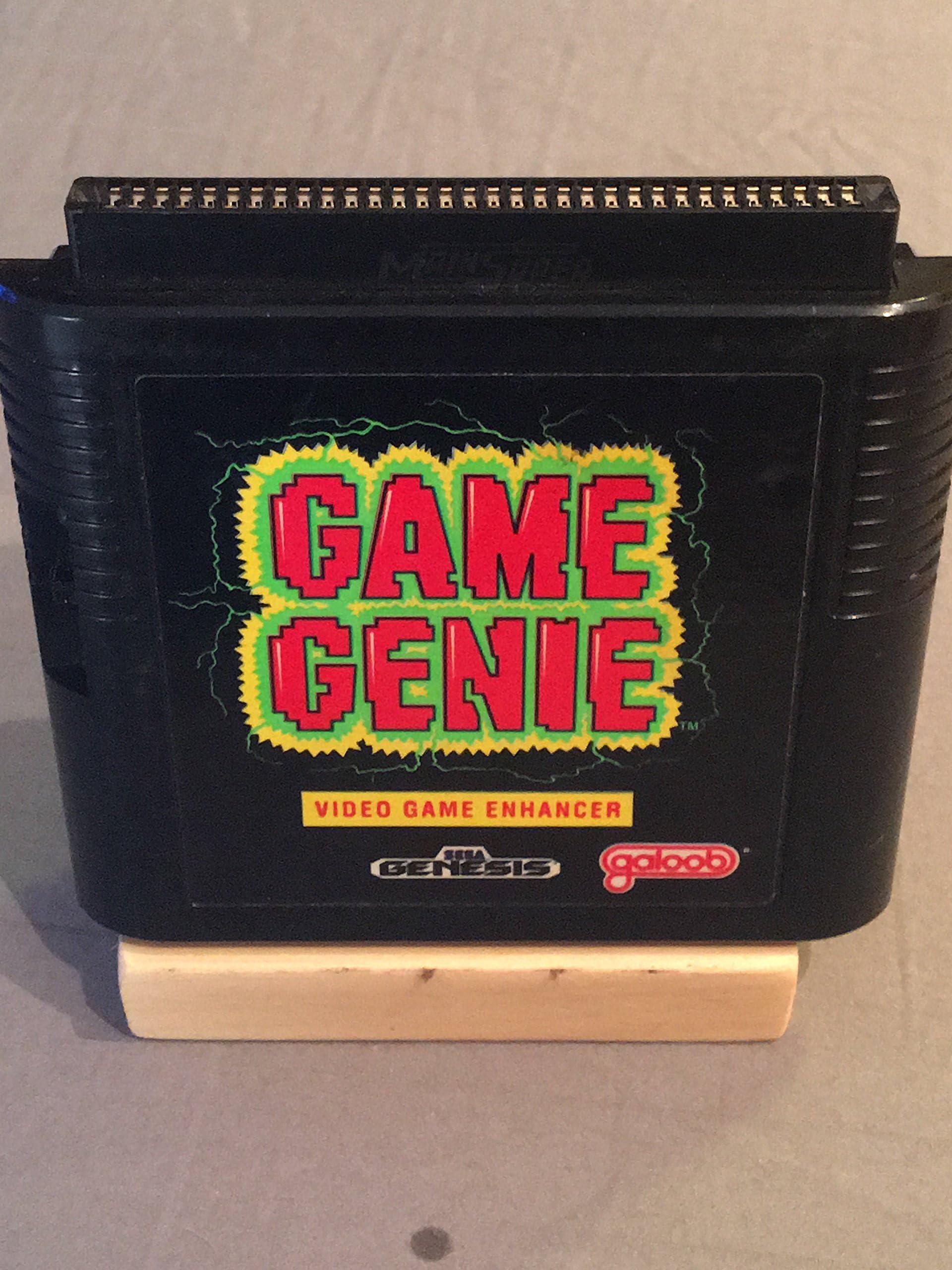 Amazon.com: <b>Game Genie</b> - <b>Sega Genesis</b>: Unknown: Video <b>Games</b>