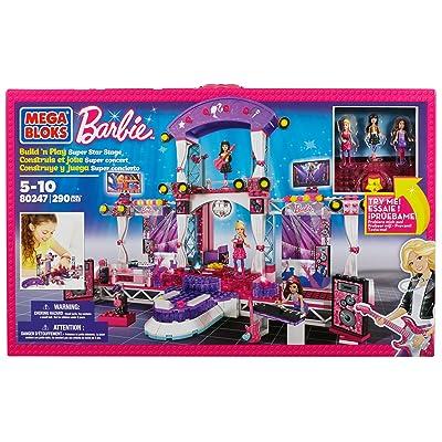 Mega Bloks Barbie Super Star Stage: Toys & Games