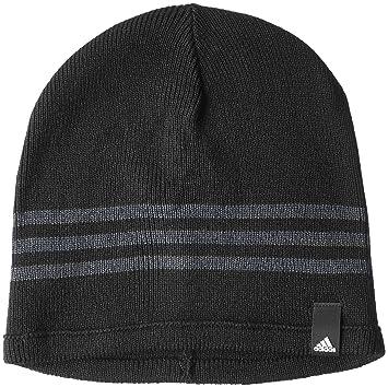 eaa547cf427 Adidas Men s Tiro 15 Beanie - Black Dark Grey