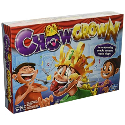 Chow Crown Game Kids Electronic Spinning Crown Snacks Food Kids & Family Game: Toys & Games