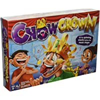 Chow Crown Game Kids Electronic Spinning Crown Snacks Food Kids & Family Game