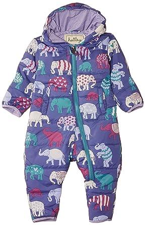 5c5cea03da07 Hatley Baby Girls Infant Polyester Bundler Patterned Elephants ...