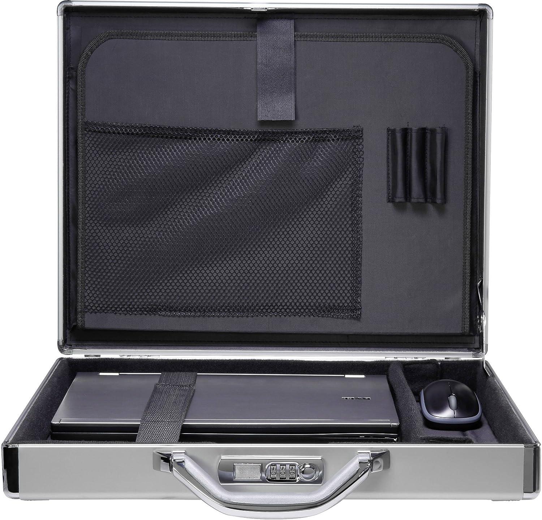 Renkforce ordinateur portable valise JJV-2003S s'adapte maximal: 39, 6 cm (15, 6 ) Aluminium RF-4556418
