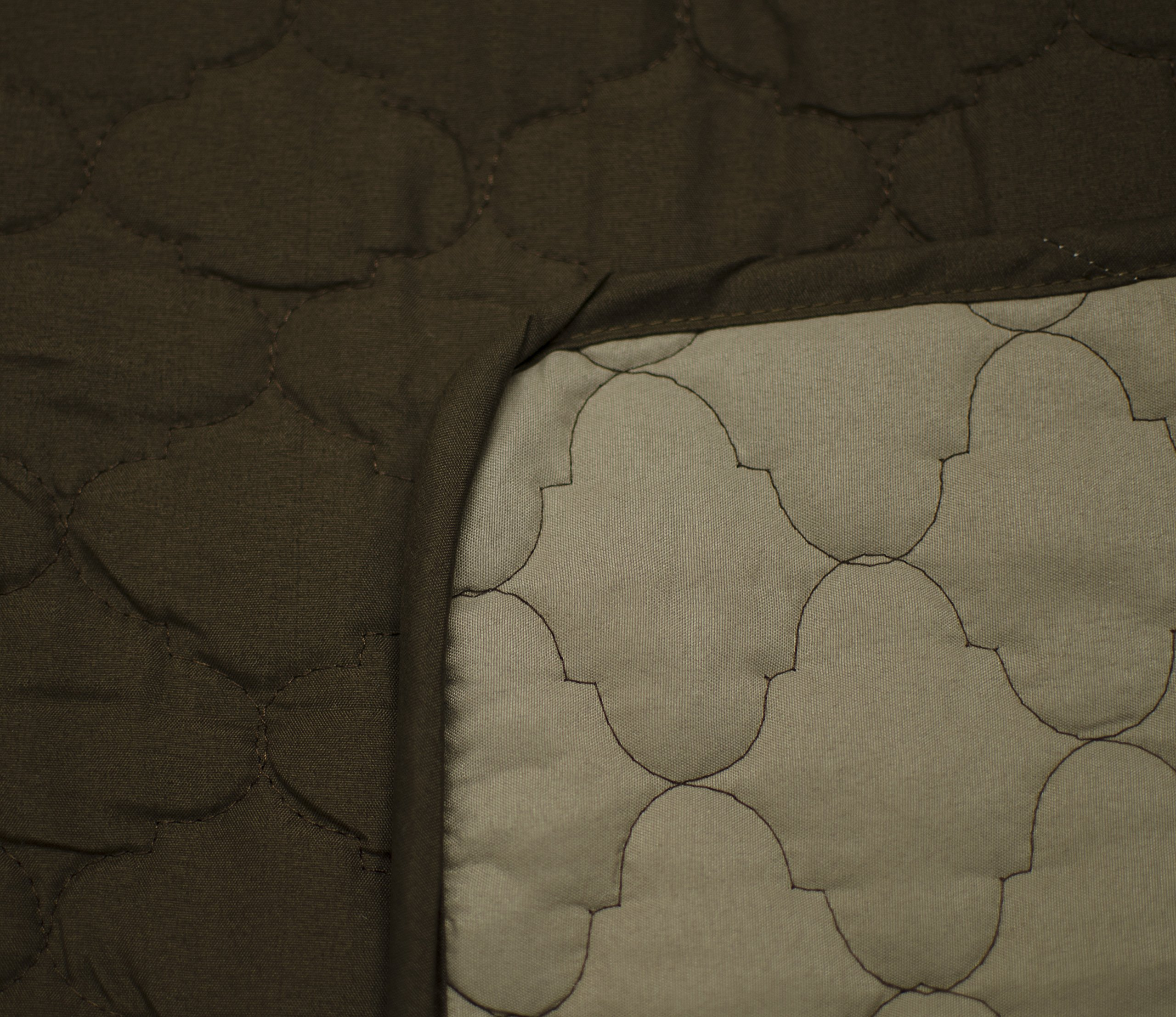 Linen Store Quilted Reversible Microfiber Pet Dog Couch Furniture Protector Cover (Sofa, Brown / Mocha) by Linen Store (Image #2)
