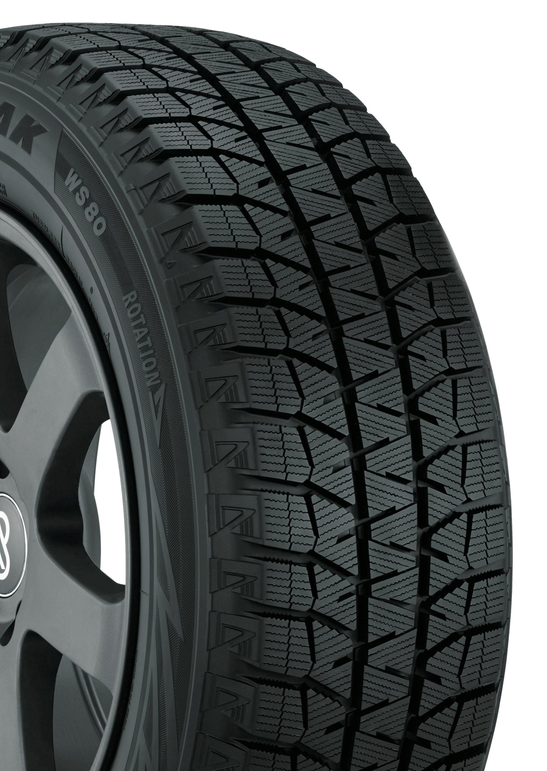 Bridgestone Blizzak WS80 Winter Radial Tire - 225/65R17 102H by Bridgestone (Image #1)