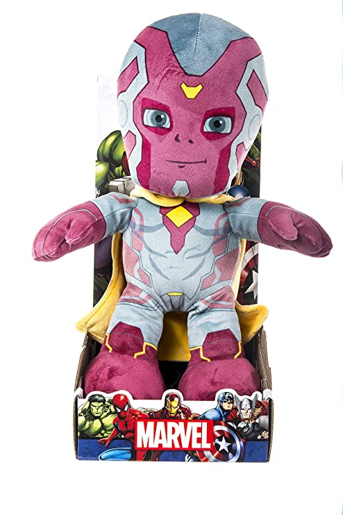 "Posh Paws Marvel 10"" Plush VISION (Dispatched ..."