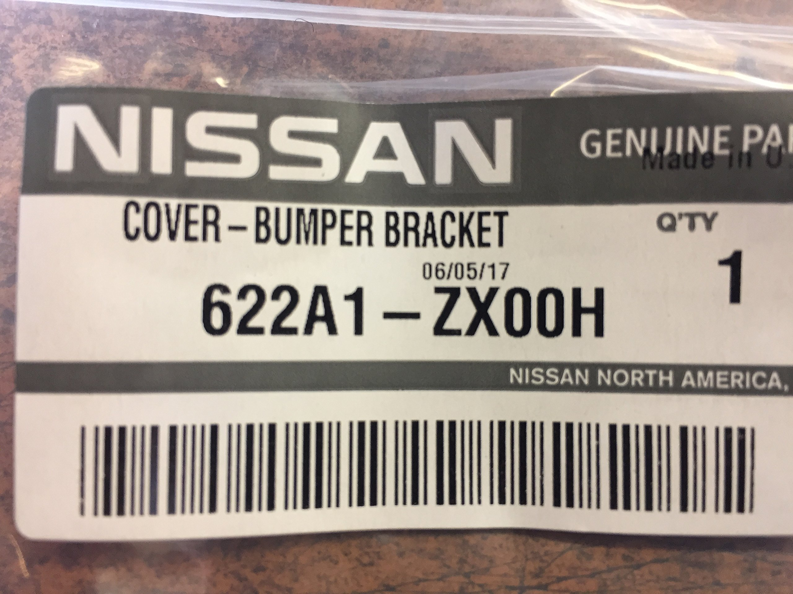 NEW OEM NISSAN ALTIMA SEDAN 2010-2012 FRONT BUMPER UNPAINTED TOW HOOK COVER by Nissan (Image #3)