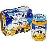 Nestlé Naturnes - Cena Crema de Verduritas con Pavo - A partir de 6 meses - 2 x 200 g