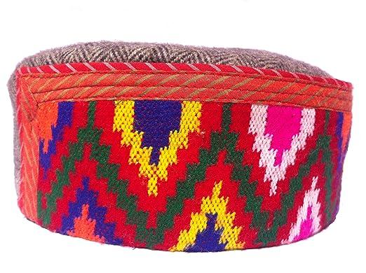 aroma agro himachal cap woolen unisex cap101 m multi coloured m