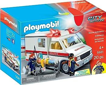 Playmobil Rescue Ambulance Play Set