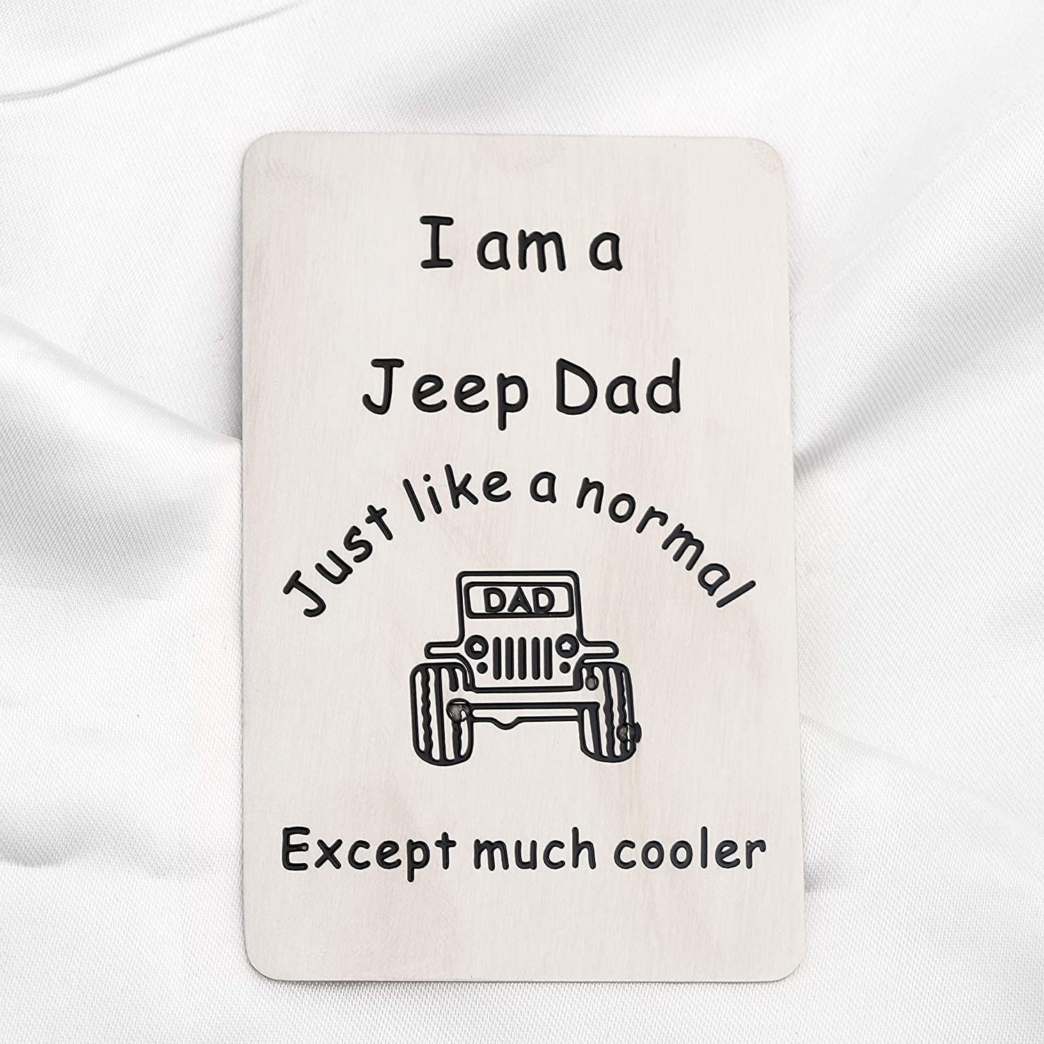 FUSTMW Jeep Mom Dad Keychain Jeep Gifts for Mom Jeep Dad Gifts Jeep Keychanin Jeep Lover Gift Jeep Wrangler Gift I am a Jeep Mom//Dad Like an Normal Mom//Dad Except Much Cooler