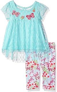 b0d1dfa39bd0 Amazon.com: Nannette Baby Girls' 2 Piece Dress with Satin Rosette ...