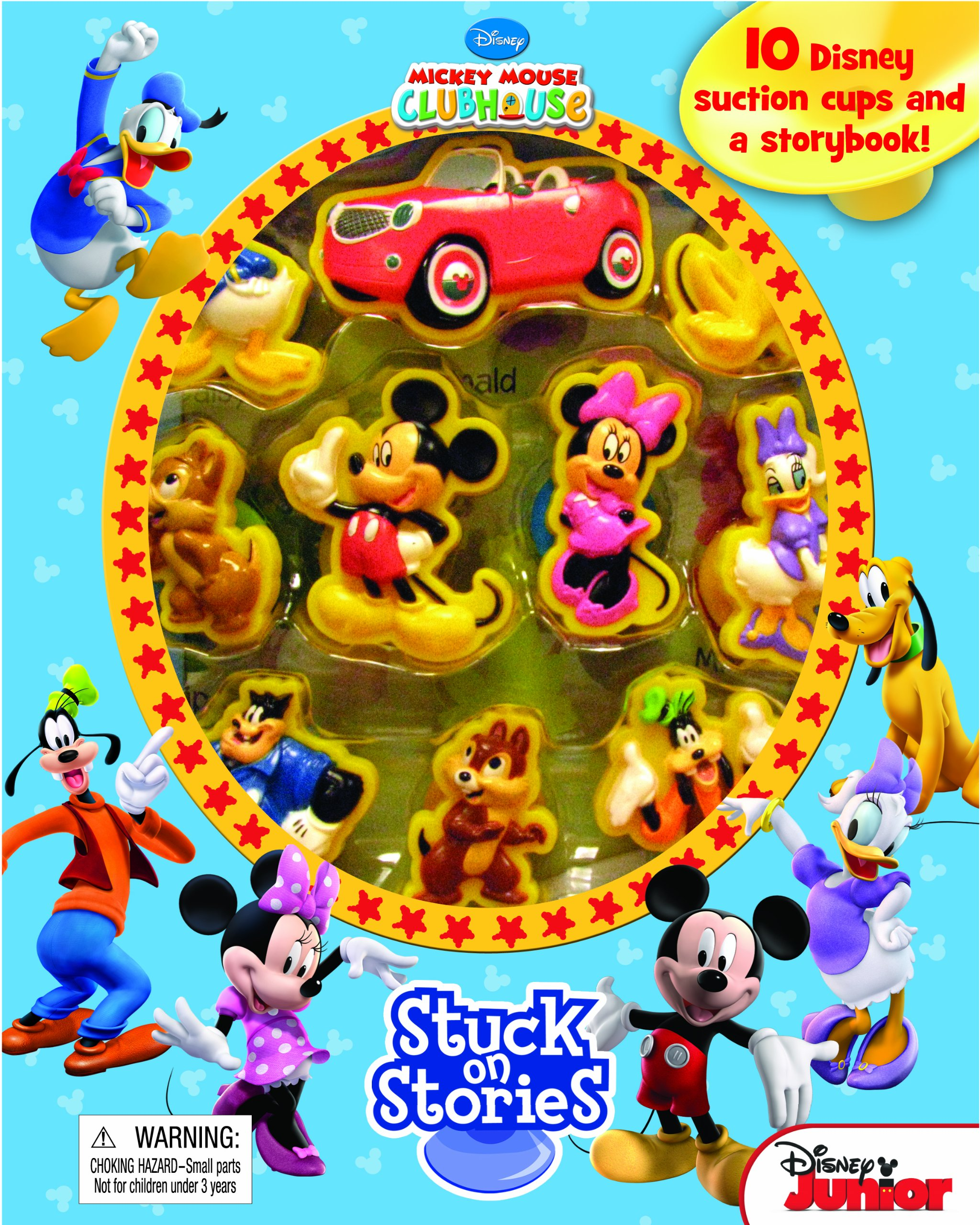 Disney Mickey Mouse Clubhouse Stuck on Stories Phidal Publishing