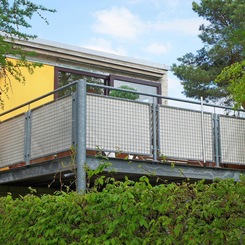 sichtschutz balkon stoff with sichtschutz balkon stoff. Black Bedroom Furniture Sets. Home Design Ideas