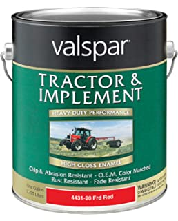 Amazon com: Valspar 4432-20 Ford Red Tractor and Implement