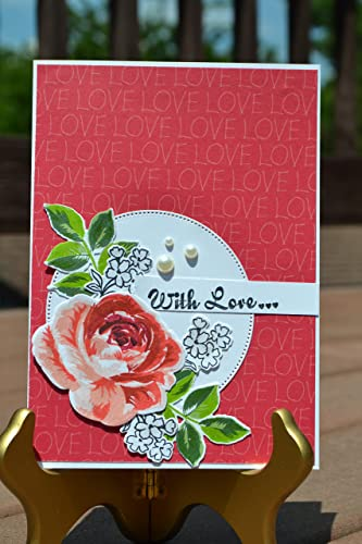 Amazon Handmade Love Card Handmade Flower Card Wish You The