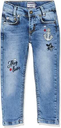Salt & Pepper Mit Ankerstickerei Und Pailettenstern Jeans para Niñas