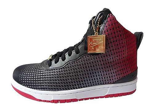 reputable site a2c73 c813b Nike Mens KD VIII NSW Lifestyle Basketball Shoes, BlackRedSilver (Blck