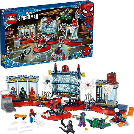 LEGO76175MarvelSpider-ManAtaquealaGuaridaArácnida,PlaysetconSuperhéroesSpider-Man,DuendeVerdeyVenom