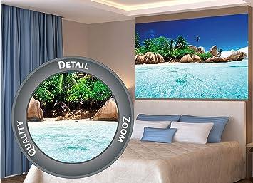 PREMIUM POSTER NEW BEACH SCENE SEA PARADISE HOLIDAY WALL ART HOME DECOR PRINT