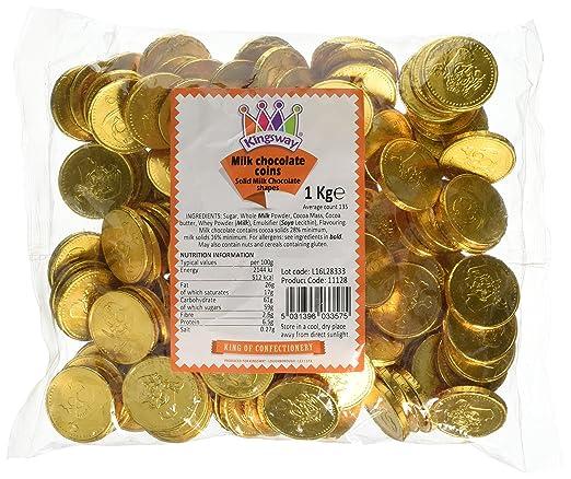 Treasure Island Süßigkeiten Milch Schokolade Gold Piraten Münzen