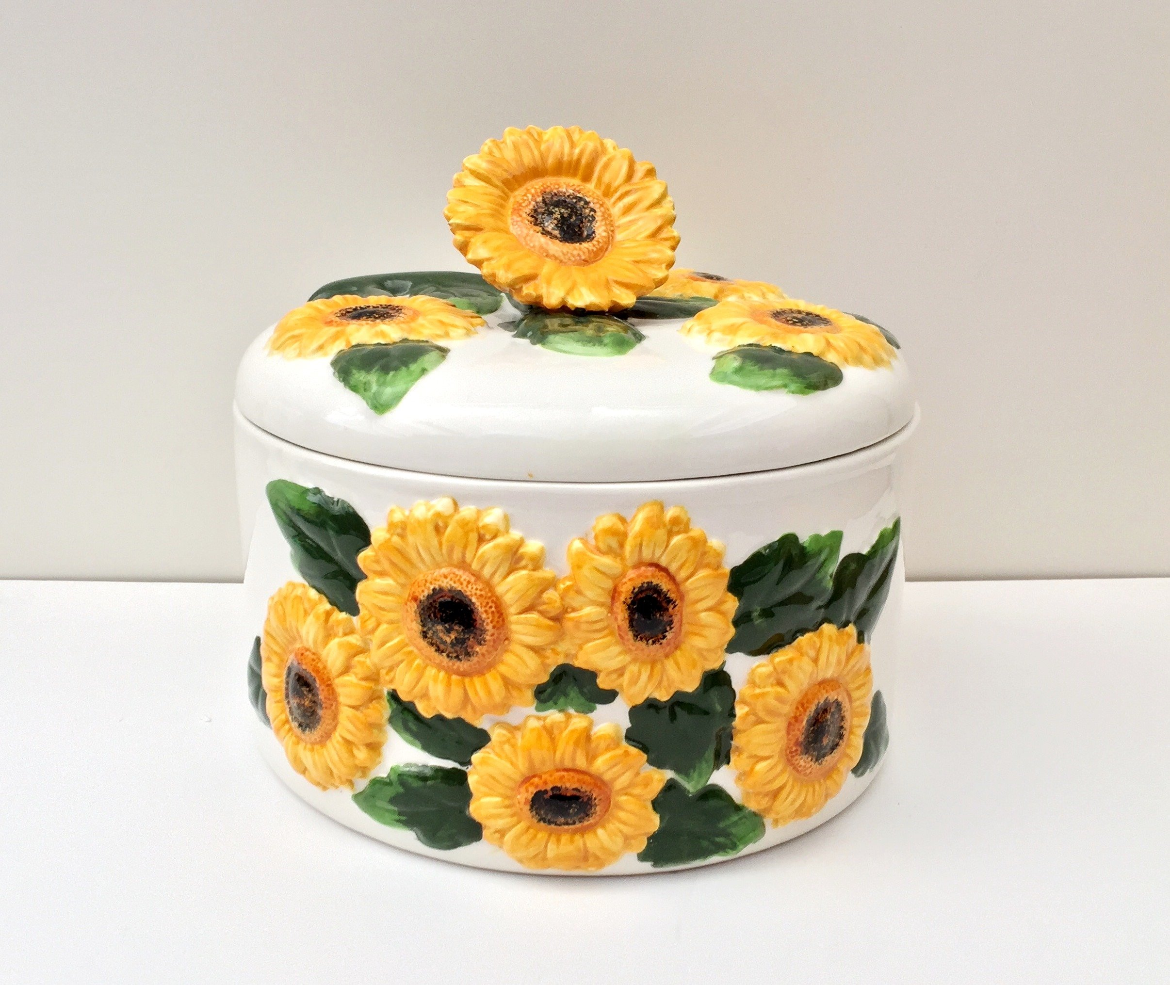 Tuscany 3D Sunflower Tortilla Warmer by A.C.K. Trading Co.