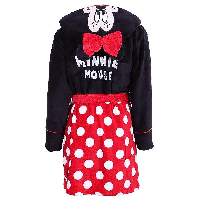Woman Luxury SOFT Bath Robe Housecoat Dressing Gown Bathrobe Disney Minnie Mouse