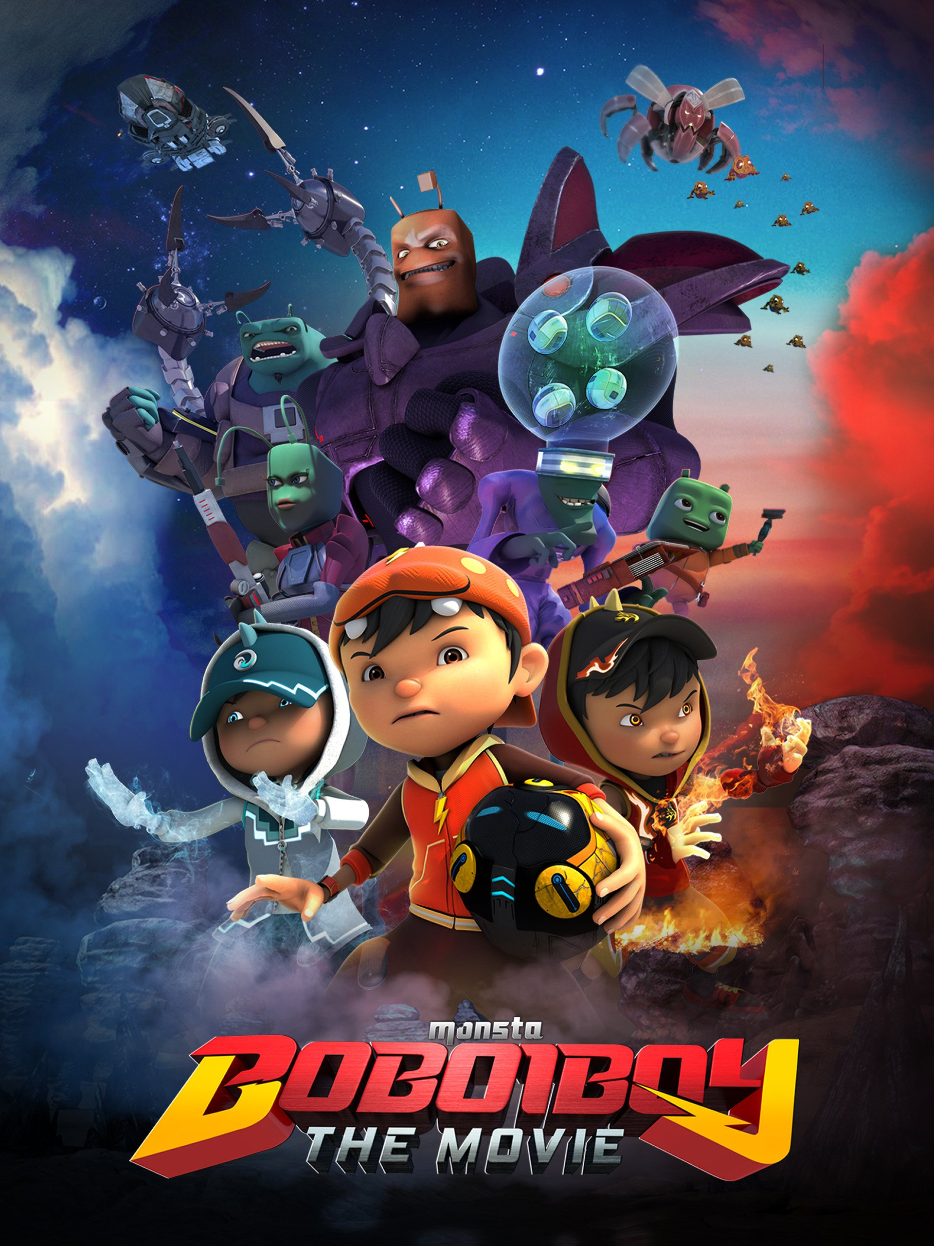 Amazoncom Watch Boboiboy The Movie Prime Video