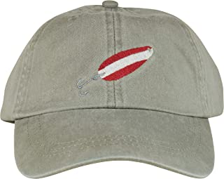 product image for Maine Made Belted Cow Red Devil Design Baseball Hat for Men and Women