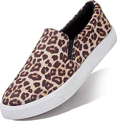 Mens Casual Sneaker Band Art Poster Slip-on Loafer Flat Comfort Walking Shoes