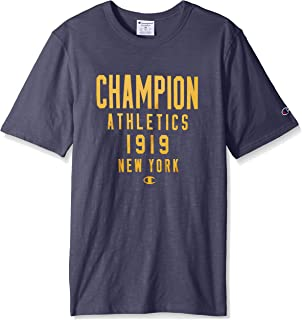 20d155884 Amazon.com  Champion Men s Heritage Baseball Slub Tee  Clothing