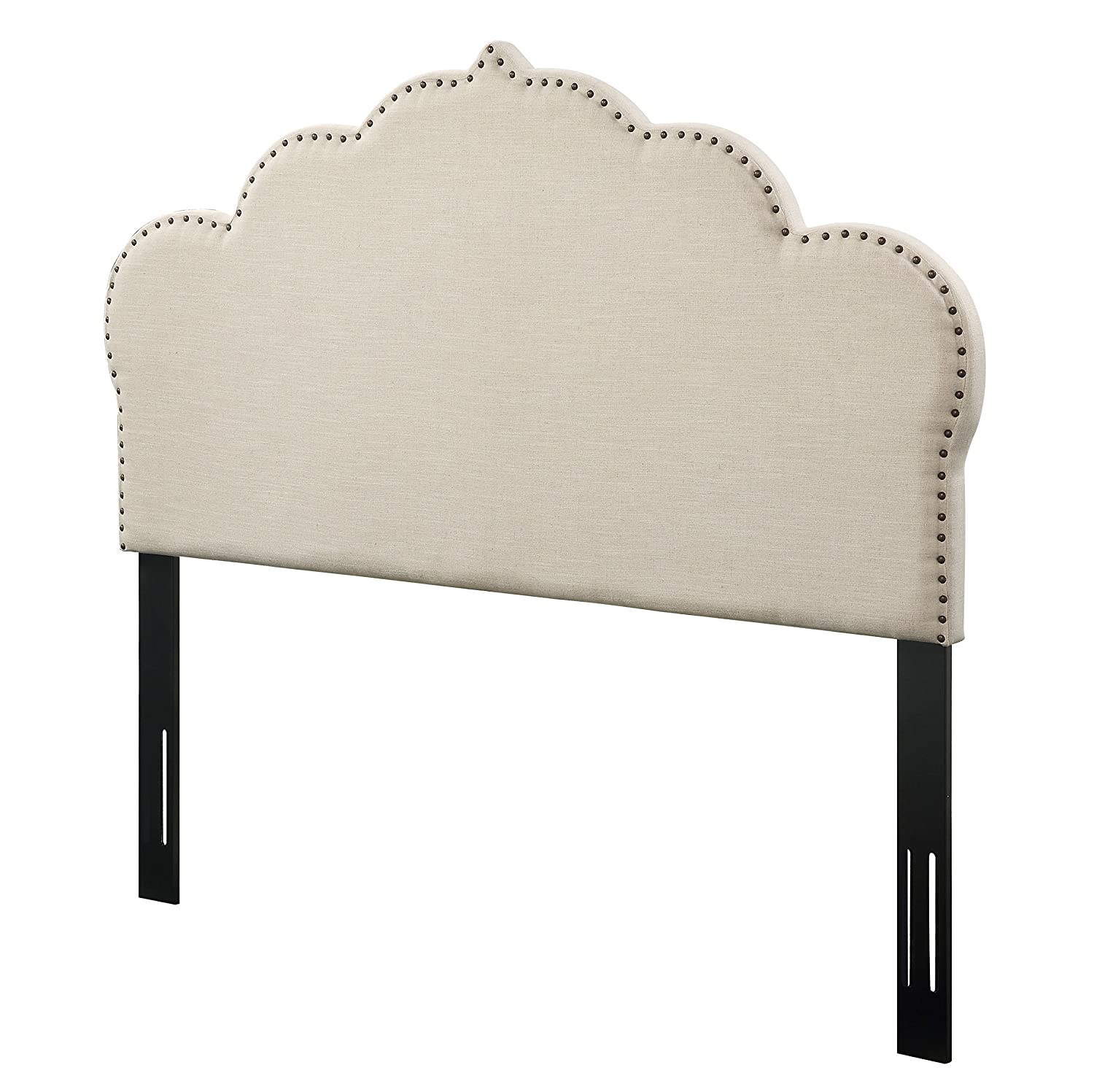 Amazoncom  Tov Furniture The Noches Collection Linen Upholstered Wood