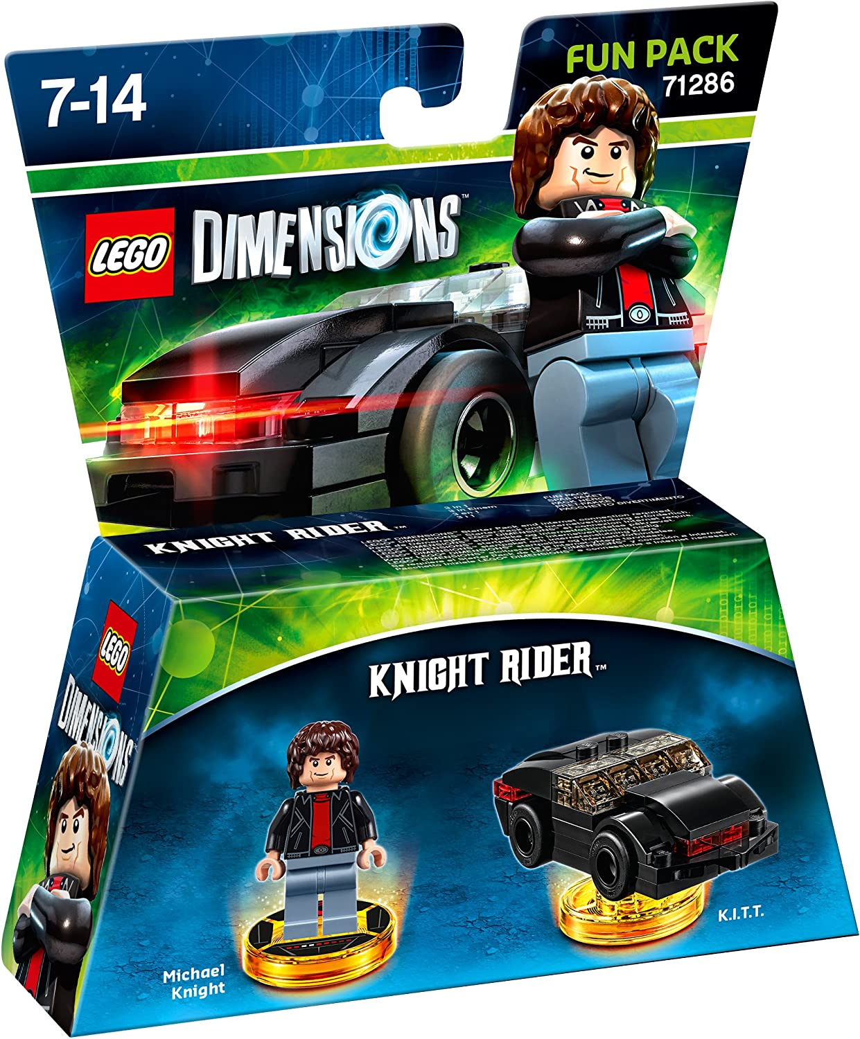 LEGO Dimensions Fun Pack: Knight Rider, Pack de diversión Knight Rider: Amazon.es: Videojuegos