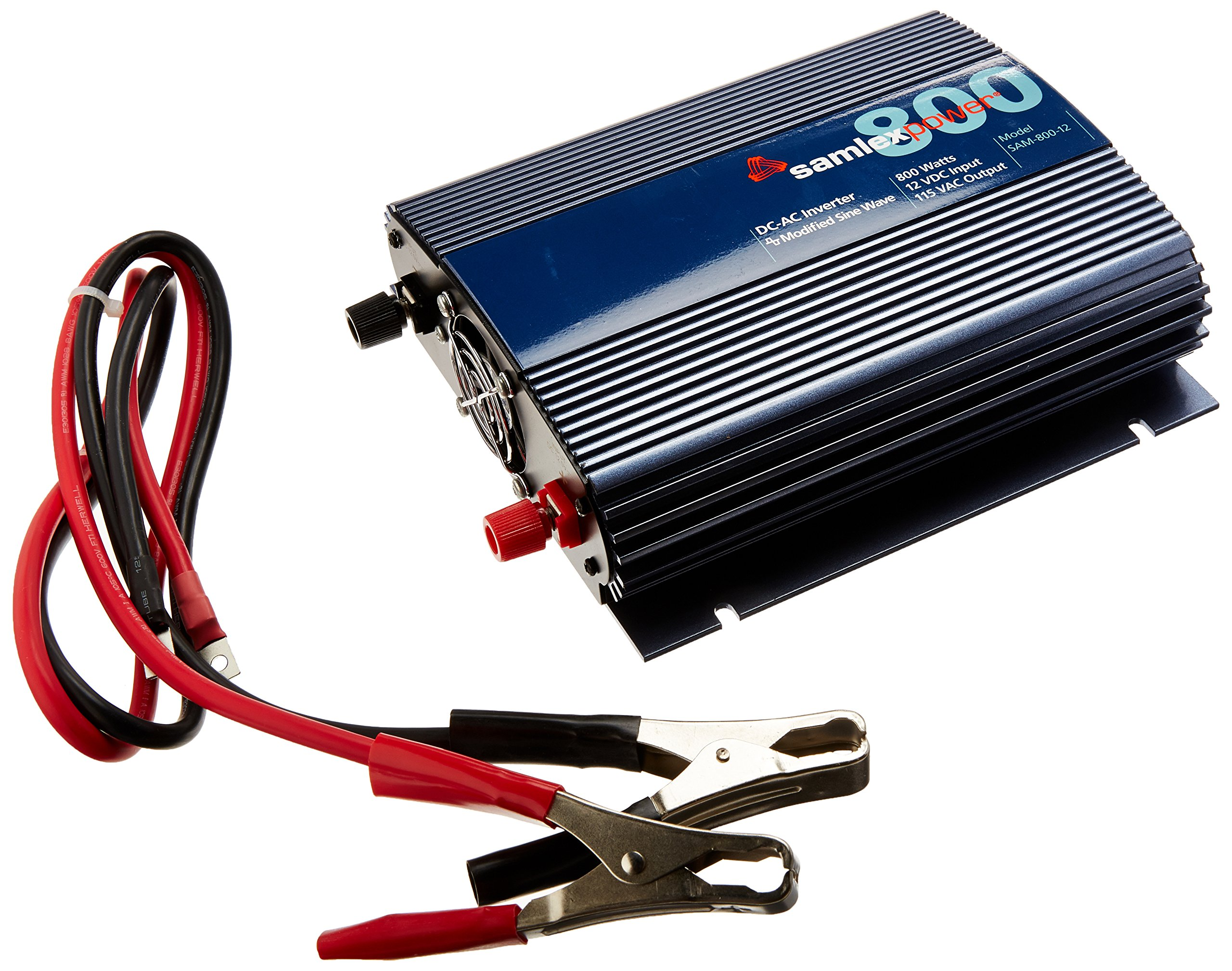 Best Rated In Solar Wind Power Inverters Helpful Customer Sump Pump Battery Backup Wiring Diagram Free Picture Samlex Sam 800 12 Series Modified Sine Wave Inverter Product Image