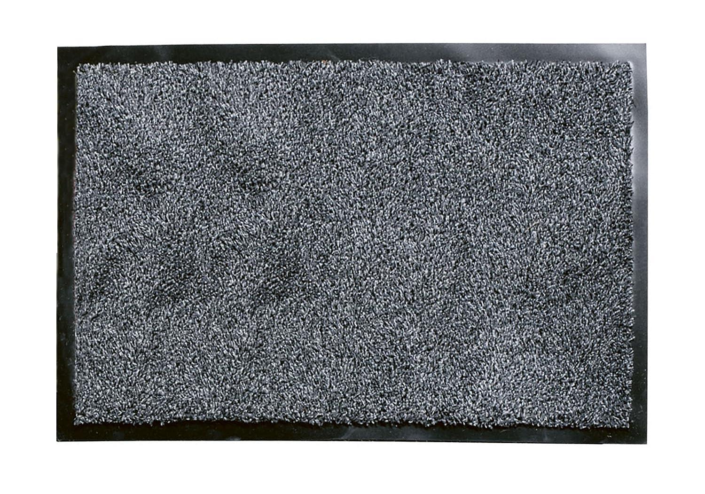 William Armes Dandy Washamat Doormat, 90 x 60 cm, Anthracite ...